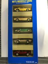 RARE 1995 Hot Wheels Gift Pack 60's Muscle Cars Vintage 5-Pack Toy Cars Unopened