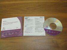 SONY DSC-T1 Firmware Update CD PictBridge Function Ver. 2.0 with User Manual.