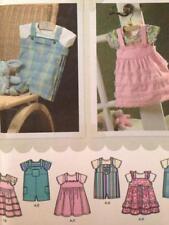 Simplicity Sewing Pattern 4288 Baby Infants Romper Jumper Size XXS-L Uncut