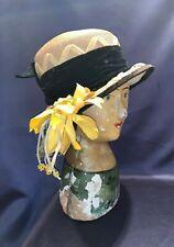 Antique C1920 Ladies Cloche Hat