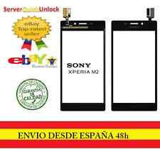 Pantalla Tactil Sony Xperia m2 S50h D2303 D2306 color negro