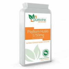 Psyllium Husks 750mg 90 Capsules Source Of Dietary Fibre Helps Remove Toxins