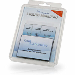 Coollaboratory Liquid MetalPad 3 Pack CPU Thermal Conduction Pad -