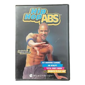 Hip Hop Abs - DVD (2 Disc DVD Set) Beach Body Fat Burning Cardio