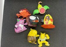 Pokemon Tomy Vintage Figure Lot Of 7 Nidoking Gastly Hypno Black Jynx + MORE