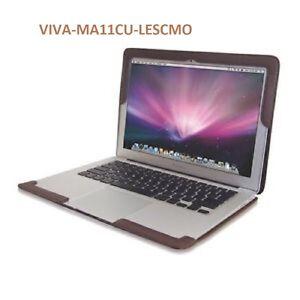"GENUINE VIVA CUERO leather case for Macbook Air 11"",classic mocha,MA11CU-LESCMO"