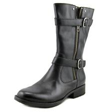 Born Erie Women US 11 Black Mid Calf Boot