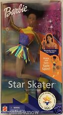 Michelle Kwan Star Skater Barbie African American AA Olympic Winter Games NIB