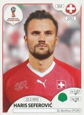 389 HARIS SEFEROVIC SWITZERLAND SL.BENFICA STICKER WORLD CUP RUSSIA 2018 PANINI
