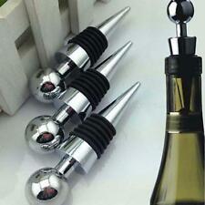 3PCS Plastic Champagne Wine Beer Bottle Stopper Cork Drink Sealer Plug Bar Seal