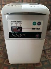 Black & Decker Automatic Bread Maker Machine White Wheat Raisin Dough B1500