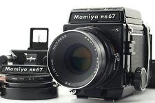【 N.MINT  】 MAMIYA RB67 Pro S + SEKOR C 127mm f/3.8 + 120 Back + Sports finder