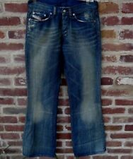 NEW Diesel Industries Womens Daze Flare Leg Distressed Jeans Size 29 W29 L34