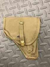 Italian Holster M1934/35 Beretta Od green Canvas Leather Unissued