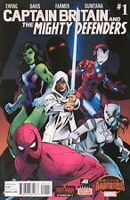 Captain BRITAIN and the Mighty DEFENDERS #1_Alan Davis,art_Marvel Comics