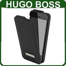 Original Hugo Boss De Cuero Flip Funda Apple Iphone 5 5s Libro Original Tapa