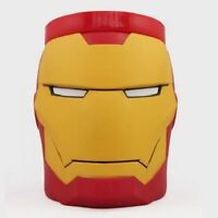 Original Marvel Comics Iron Man Head Plastic Tee Coffee Mug Cup New In Box