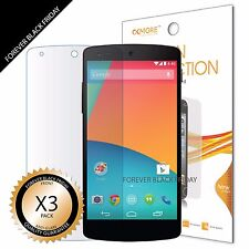 LG Google Nexus 5 Screen Protector 3x Anti-Glare Matte Cover Guard Shield