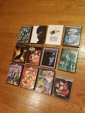 Lot of 12 DVD Transformers HALO Dragon Ball MATRIX Aeon Flux Complete Collection