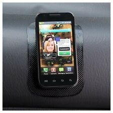 Sticky Mat For Adhering Cell Phones Smart Phones to Vehicle Dashboard Hands-Free