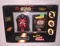 MIB 1999 Star Wars Oddz On Darth Maul Rubik's Cube Puzzle