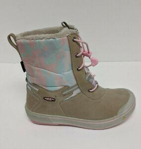 Keen Kelsa Tall Waterproof Boots, Taupe, Little Kids 2 M