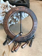 Chinese New Year Zodiac Brass Belt Buckle Vintage