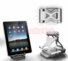 Portable Power Bank Battery Stand for iPhone iPad Tablet Galaxy Charge 2 Devices