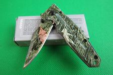 Fashion Folding Knife Pocket Fishing Hunting Camping Survival Rescue Tool Saber