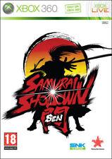SAMURAI SHODOWN WITHOUT SNK GAME XBOX 360 NEW XB 360 SNK