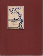Webster Groves High School Missouri 1941 Echo Yearbook Annual HS Year Book 7-12