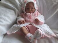 Honeydropdesigns * Lacy Matinee Set * PAPER KNITTING PATTERN * 0-3 Months