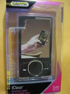 Griffin iClear Crystal-Clear Hard Case for ZUNE 80GB