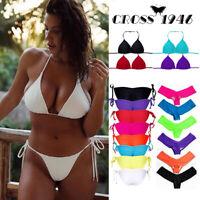 Women Push-up Soft Bra Bandage Bikini Set Swimsuit Triangle Swimwear Bathing USA
