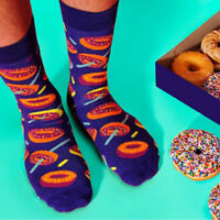 New Arrival Food Series Unisex Cotton Socks Men&Women Creative Donut Egg Socks