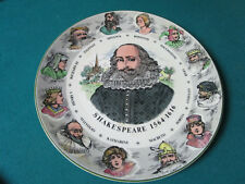 "Royal Doulton Antique Collector Plate Shakespeare 10 1/2"" Tc1041"