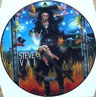 EX/EX STEVE VAI PASSION AND WARFARE VINYL LP PICTURE PIC DISC