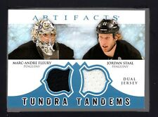 2012-13 Artifacts Tundra Tandems Jerseys Marc-Andre Fleury Staal HT 17144