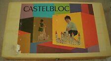Castelbloc jeu de construction en bois vintage 3 photos