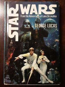 Ist Edition Star Wars hardcover Book Club Edition 1976 Del Rey dust jacket