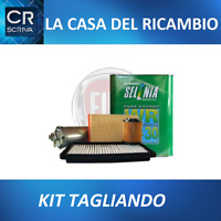 KIT TAGLIANDO 4 FILTRI+5 LT OLIO SELENIA 0W30 JEEP RENEGADE 1.6 2.0 CRD multijet