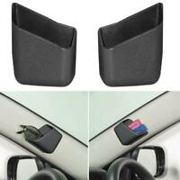 2PCS Universal Car Auto Accessories Glasses Organizer Storage Box Holder