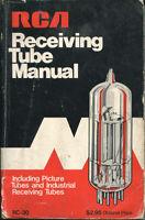 RCA RECEIVING TUBE MANUAL RC-30 1975