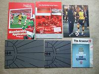arsenal junior gunners membership application pack 2009/10