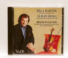 REGIS PASQUIER - BARTOK & BERG violin concertos VALOIS CD NM