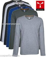 T-shirt manica lunga uomo Payper Pineta girocollo casual leggera maglia cotone