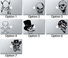 Skeletons Skulls Decal Sticker Skin Apple Mac Book Air/Pro Dell Laptop Tribal