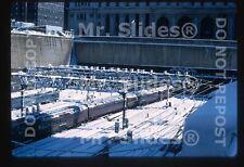 Original Slide PRR Pennsylvania RR MP54 Train Action Penn Sta. NYC NY 1969