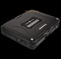 BLACK Panasonic Toughbook CF-19 Tablet, i5, 240GB SSD, Touchscreen, 3 Year WIN10