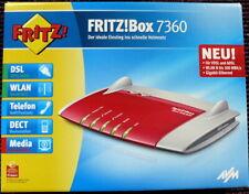 AVM Fritz!Box Fon 7360 EWE Edition WLAN Wifi Modem VDSL Gigabit Router + Zubehör